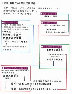 新開氏関係図