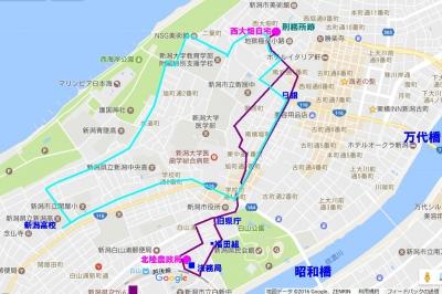 新潟市地図
