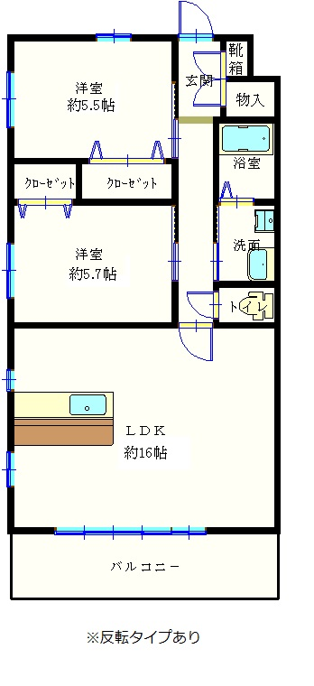 ソラーレⅢ1階2階