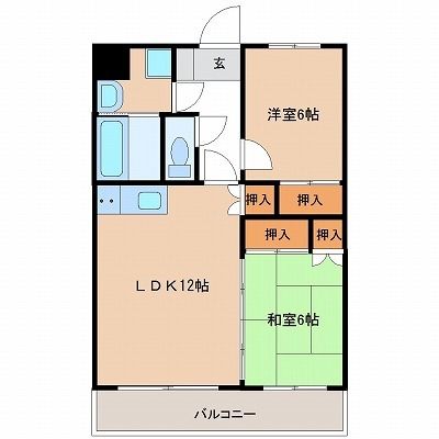 サンライズ吉村Ⅱ(5号室)