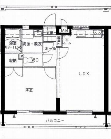 エルシティ大塚間取り (1)