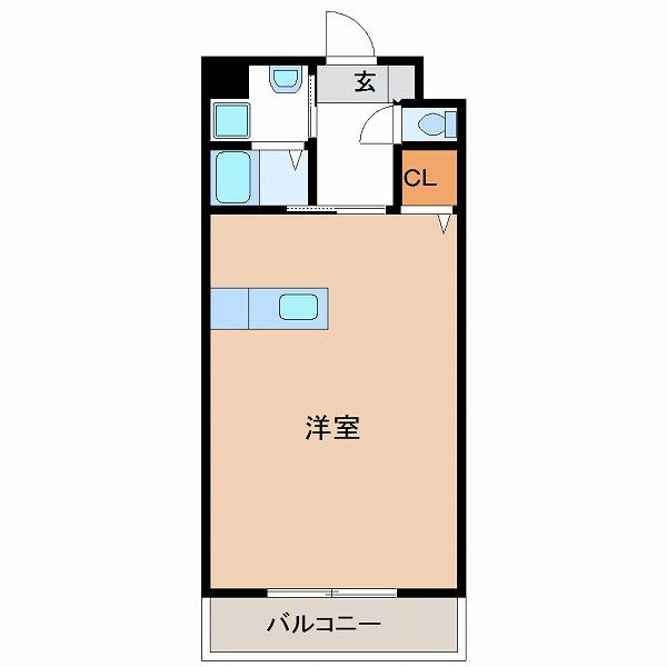 ソラーレ広島3号室