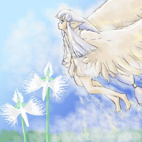 白鷺のてんむす