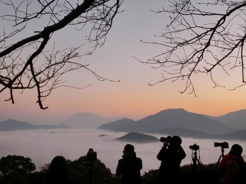 明智峠の雲海