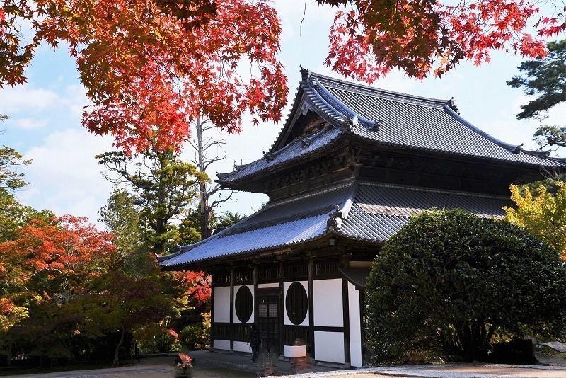 宝福寺の紅葉3