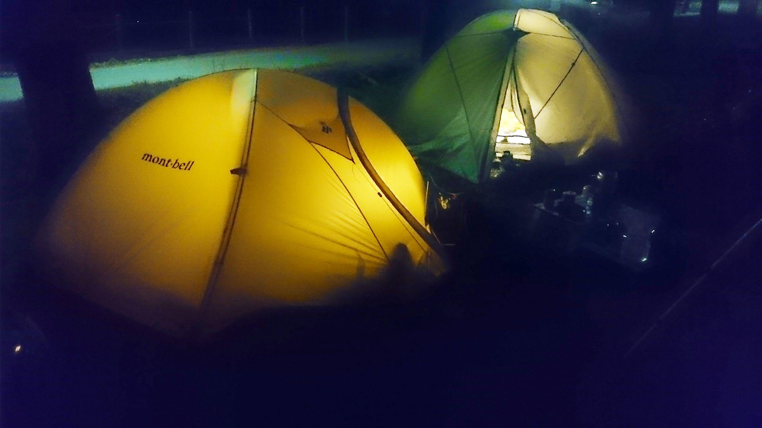 GROM_花見キャンプ