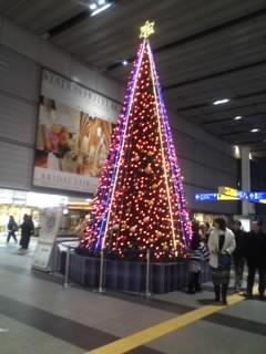 クリスマスツリー小倉駅2