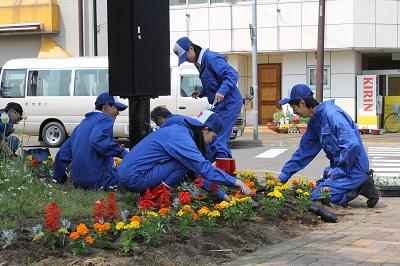 駅前 余市紅志高校2016-6-7 010
