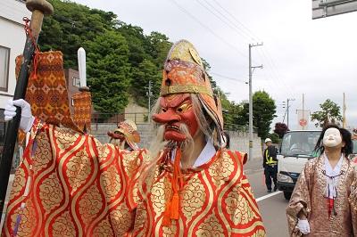 2016年6月10日 余市神社祭り 2016-6-10 017