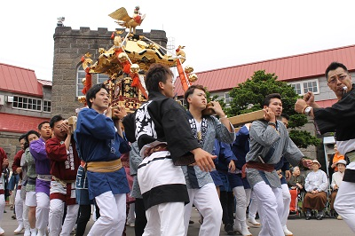 2016年6月10日 余市神社祭り 2016-6-10 103