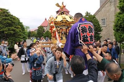 2016年6月10日 余市神社祭り 2016-6-10 126