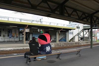 特急ニセコ号 お出迎え2016-9-4 (7)