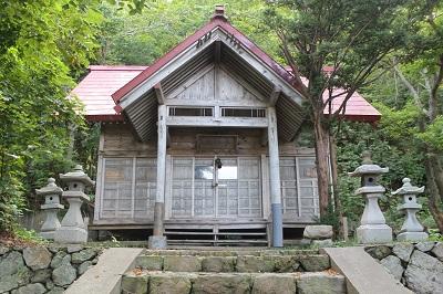 幸福運巡り 旧下よいち運上家 モイレ神社 2016-9-7 (7)