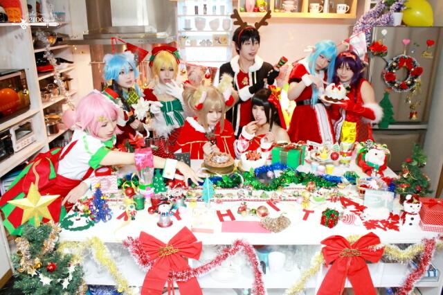 ☆ソードアート・オンライン プログレス・リンク / エンドワールド クリスマス衣装 あわせ@シルバーローズスタジオ☆