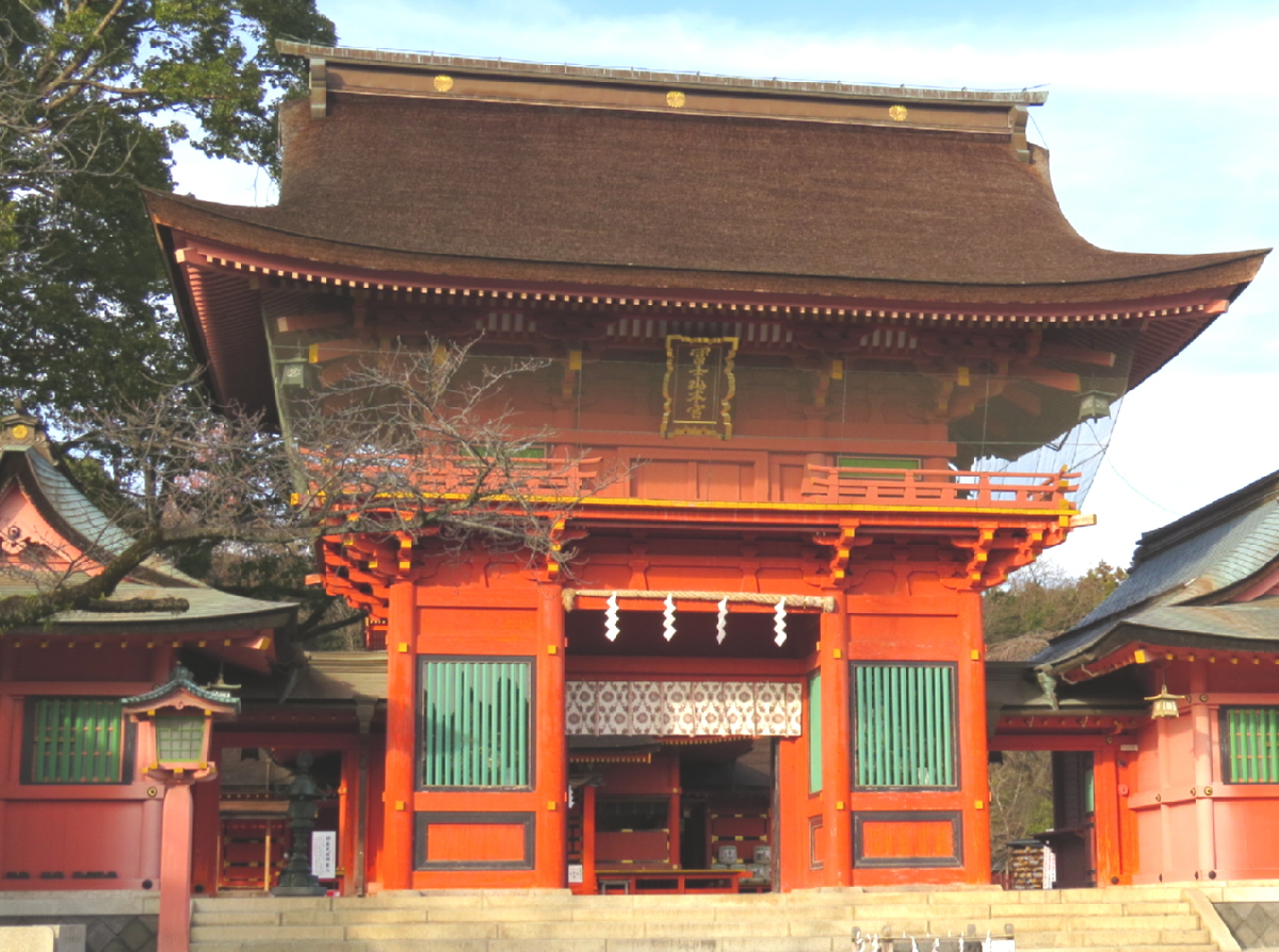 富士山隠れスポット楼門