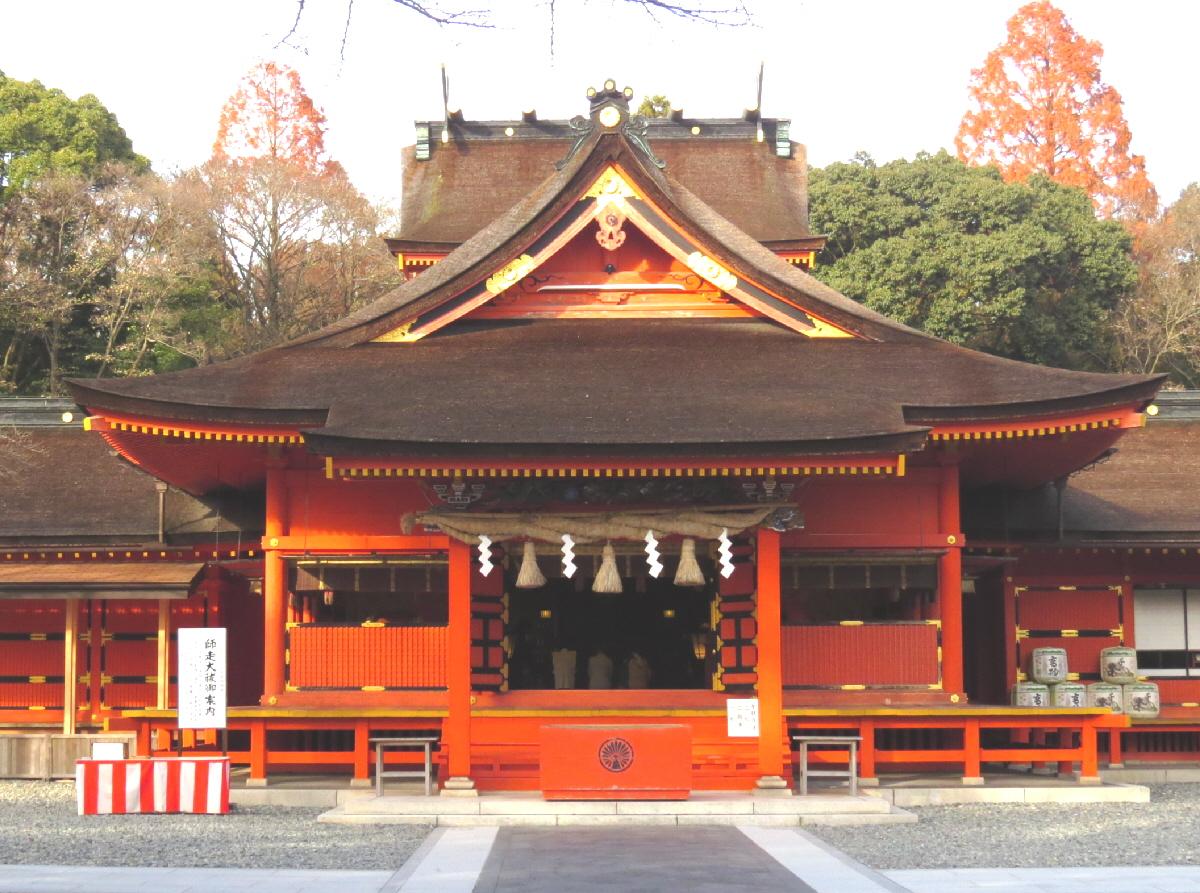 富士山隠れスポット拝殿