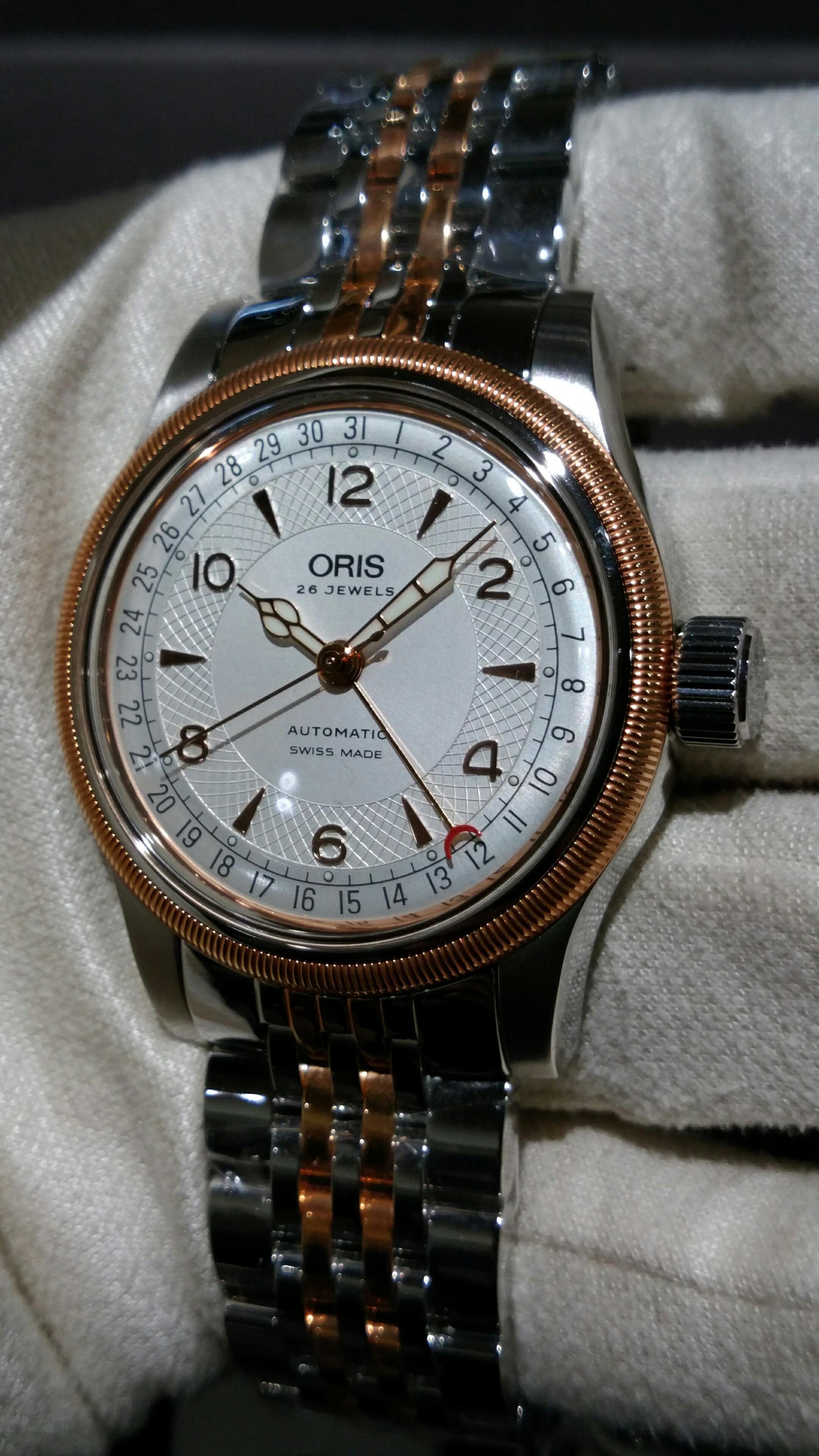 buy online 635d2 1caf2 サロン・ド・サセ スタッフブログ オリス 時計