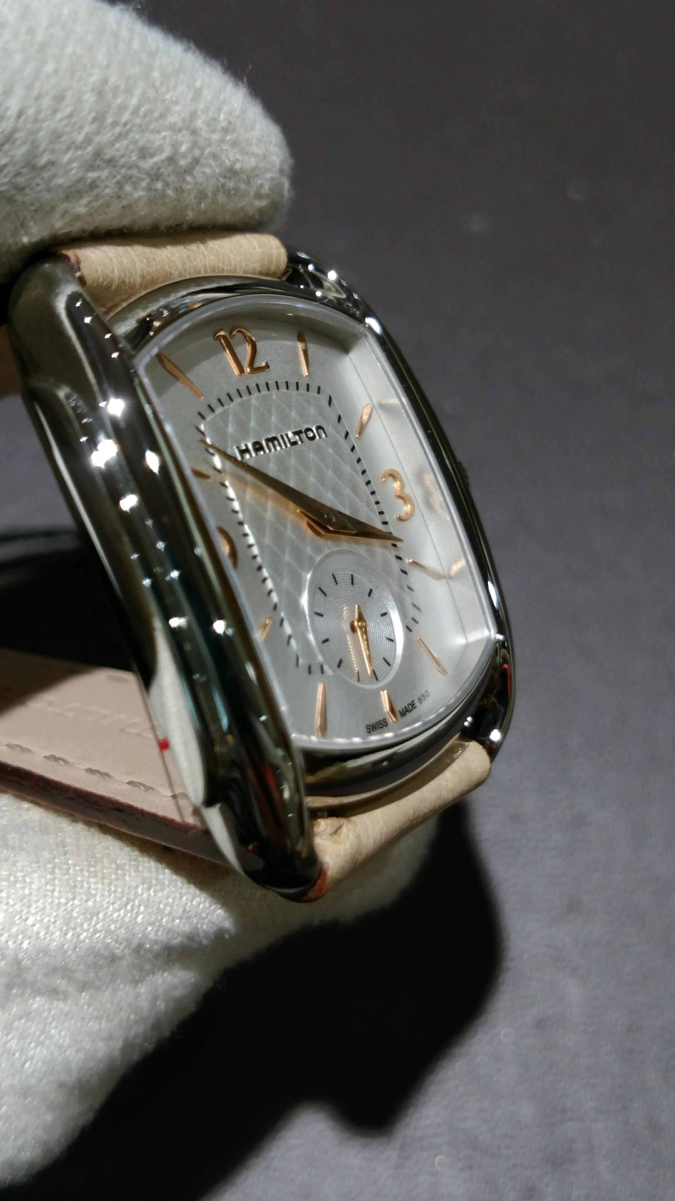 new product 457bc 1a345 サロン・ド・サセ スタッフブログ ハミルトン 時計