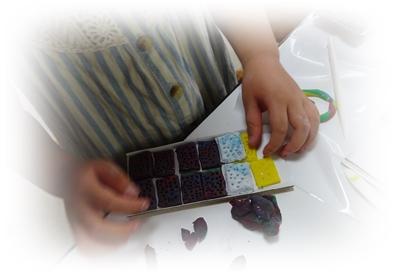 DSC05622粘土のチョコ1