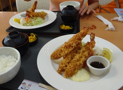 DSC06203海老フライ定食