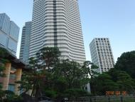 DSC06553日本庭園とホテル
