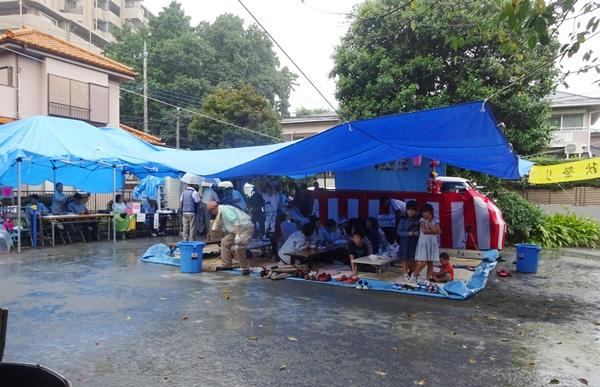 DSC06783雨の秋祭り
