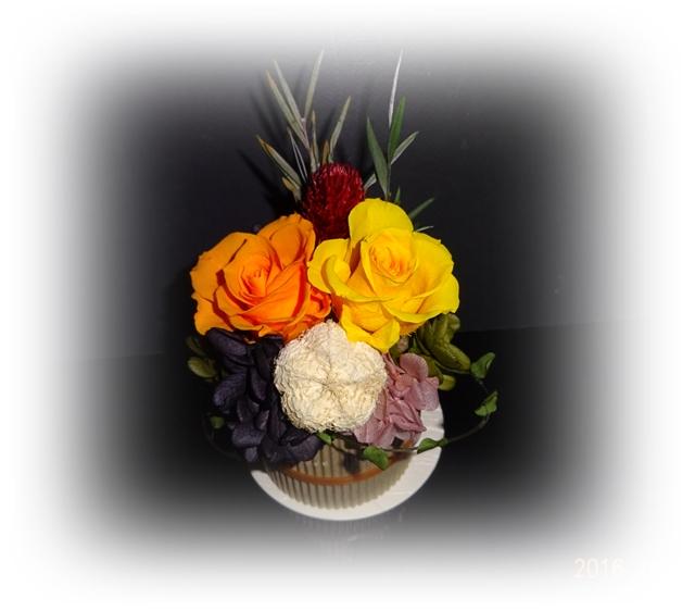 DSC07012お誕生祝の花