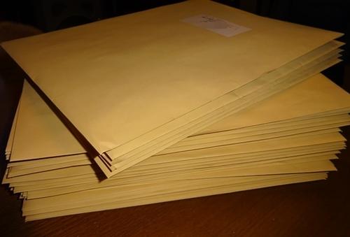 DSC07199ジュニコン郵送書類