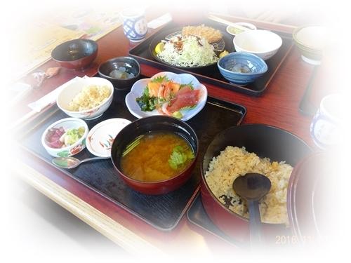 DSC07228松茸ご飯ランチ