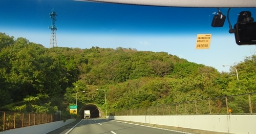 DSC07224秋の色の横横道路