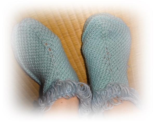 DSC07593毛糸ソックス
