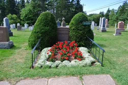 ○モンゴメリの墓