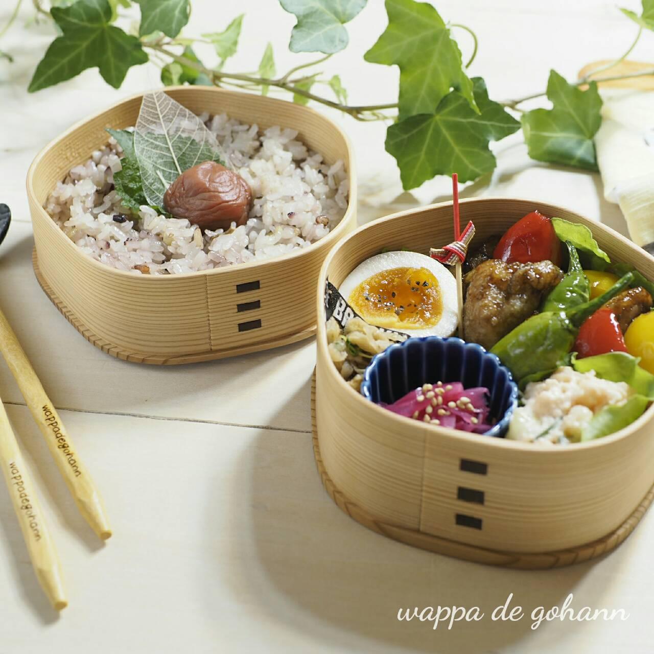 今日のお弁当 十六穀米