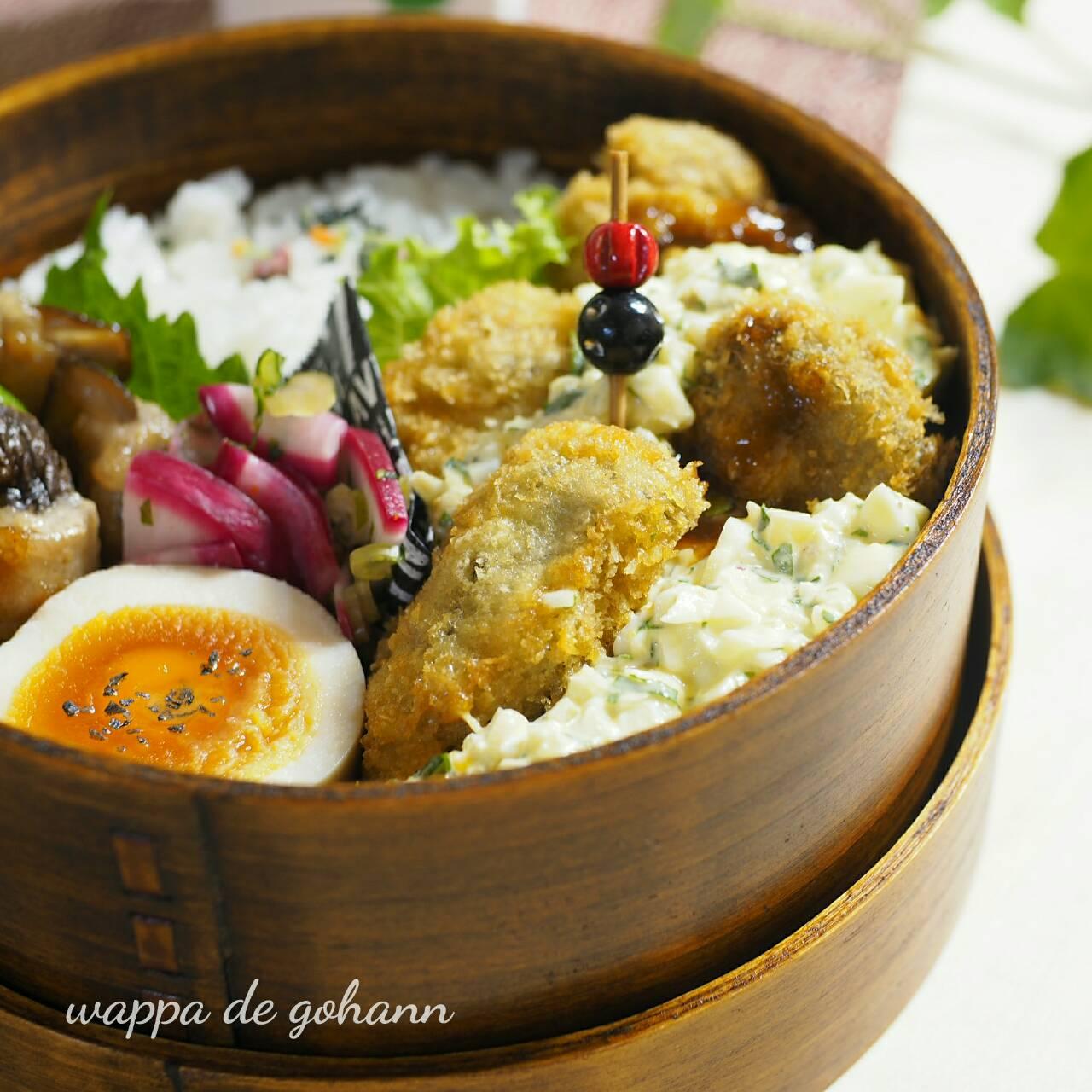 牡蛎フライ弁当