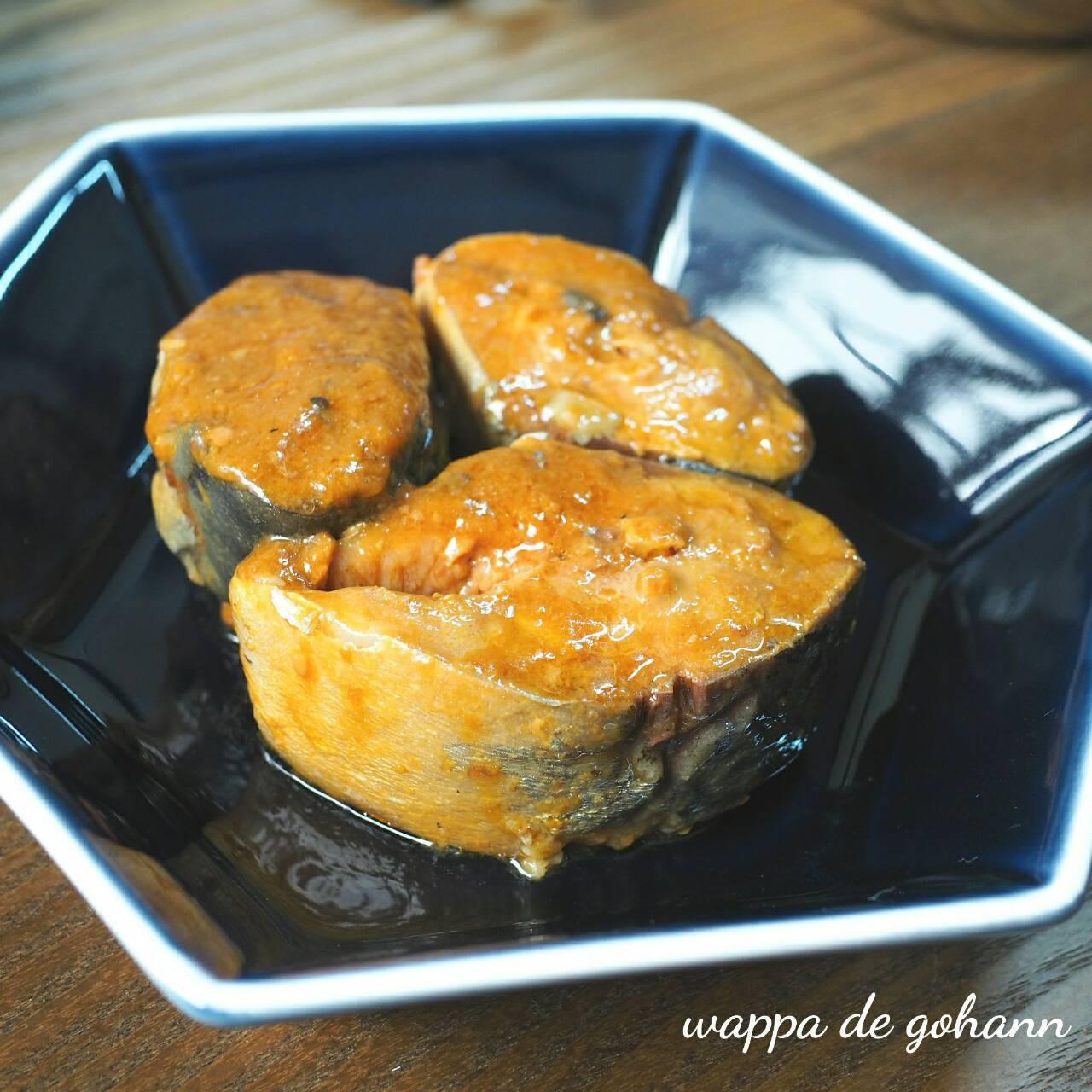 鯖味噌煮1