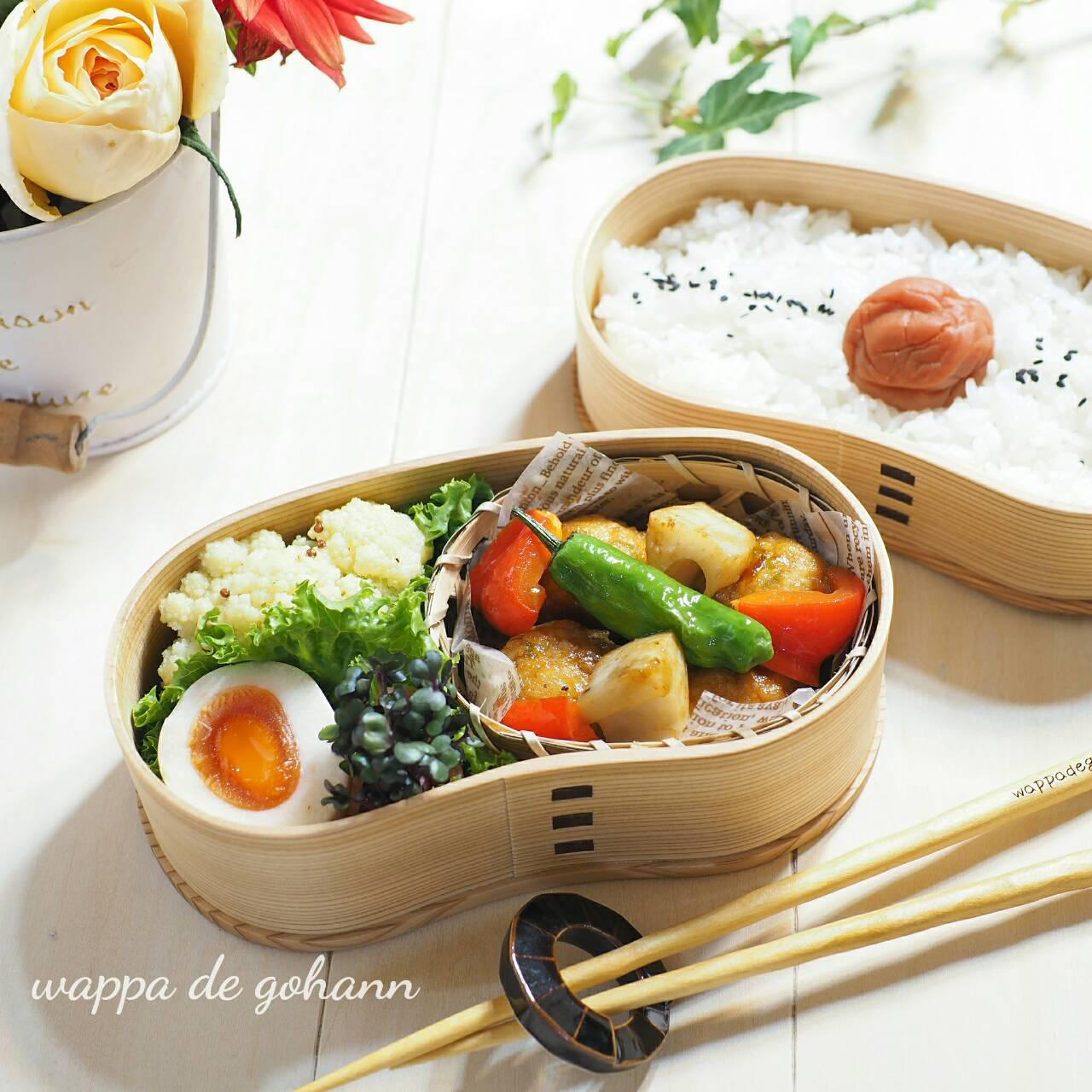 中華風肉団子弁当