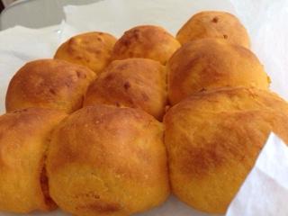マンゴーのちぎりパン