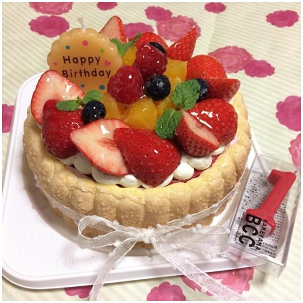 苺ムースケーキ