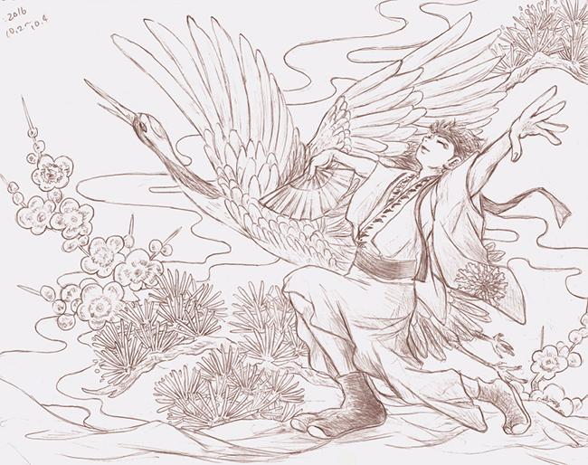 花鳥風月 「鳥」