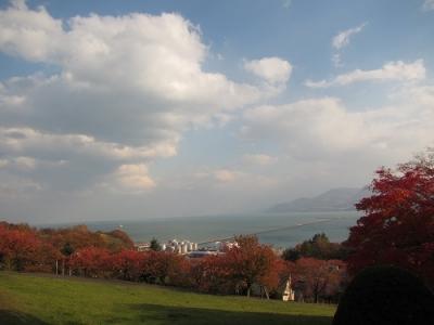 手宮公園から海