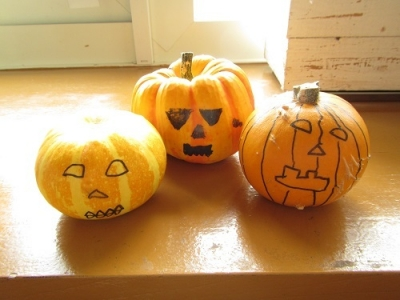 かぼちゃペイント