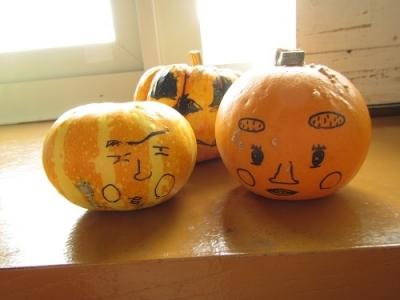 かぼちゃペイント夫