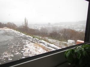 水曜日の雪