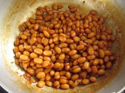 大豆のしょうゆ煮