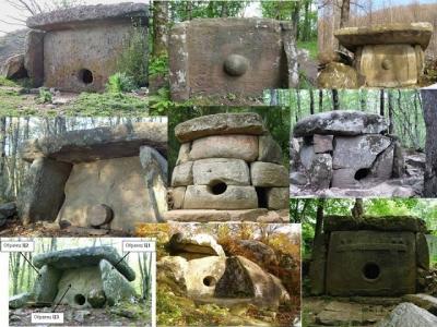 Prehistoric Caucasus Dolmens