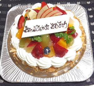 201611BDケーキ
