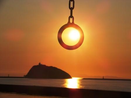みたら夕陽4