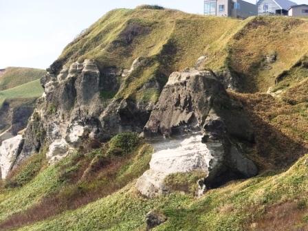 イタンキno崖