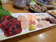 西横浜 濱のくじら屋 鯨6点盛(2016/12/20)