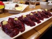 西横浜 濱のくじら屋 鯨赤肉寿司(2016/12/20)